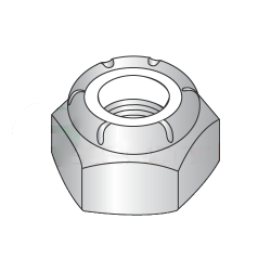1 3/8-6 Heavy Hex / NTU Thin Nylon Insert Locknut / Steel / Zinc (Quantity: 10)