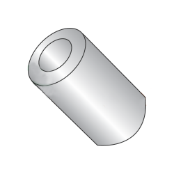 """1/2"""" OD Round Spacers / #8 x 1"""" / Stainless Steel / Outer Diameter: 1/2"""" / Hole Size: #8 / Length: 1"""" (Quantity: 100 pcs)"""