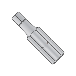 "3 X 1 X 1/4 Square Recess Insert Bit / Point Size: #3 / Length 1"" / Shank: 1/4"" (Quantity: 200 pcs)"
