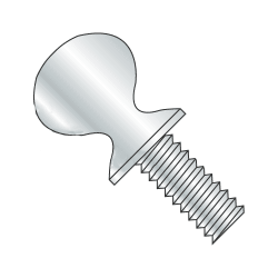 "1/4""-20 x 1/2"" Thumb Screws / Type A with Shoulder / Steel / Zinc (Quantity: 100 pcs)"