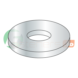 "5/8"" x 3"" Fender Washers / Steel / Zinc / Outer Diameter: 3"" / Thickness Range : .051"" - .080"" (Quantity: 50 Lbs, about 365 pcs)"