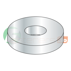 "2 3/4"" USS Flat Washers / Steel / Zinc / Outer Diameter: 5 1/4"" / Thickness Range : .228"" - .310"" (Quantity: 50 Lbs, about 45 pcs)"