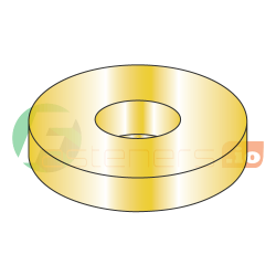 "1 1/2"" USS Thru Hard Washers / Steel / Zinc Yellow / Outer Diameter: 3 1/2"" / Thickness Range : .136"" - .213"" (Quantity: 30 pcs)"